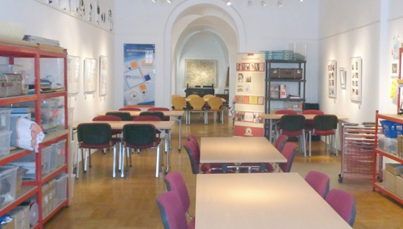 museumspädagogische Werkstatt der Galerie e.o.plauen