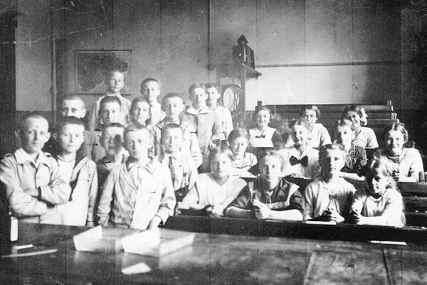 Erich Ohser in der Seminarschule Plauen