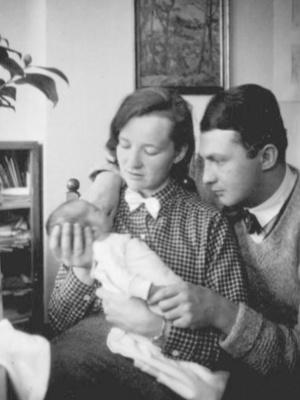 Erich Ohser, Marigard Bantzer und Sohn Christian