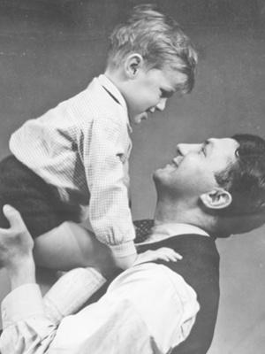 Erich Ohser und Sohn Christian