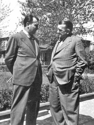 Erich Ohser und Erich Knauf