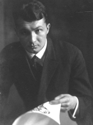 Erich Ohser als junger Student