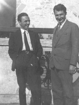 Erich Kästner und Erich Ohser