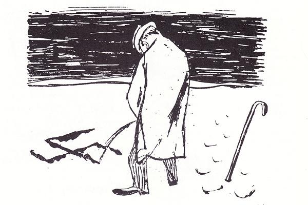 Karikatur in »Neue Revue« / © Erich Ohser alias e.o.plauen