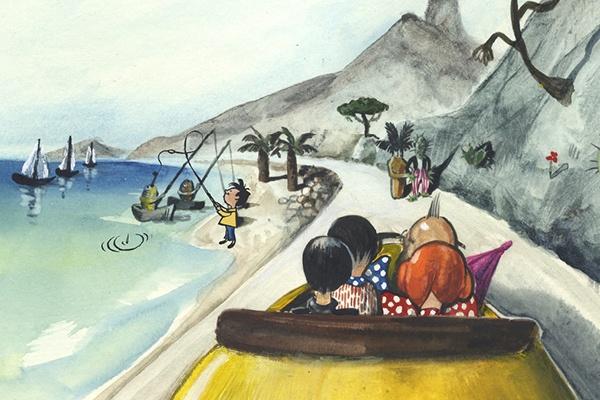 Motiv zu Ausstellung e.o.plauen & Frank Hoppman »Die Wunderwelt der Bilder«